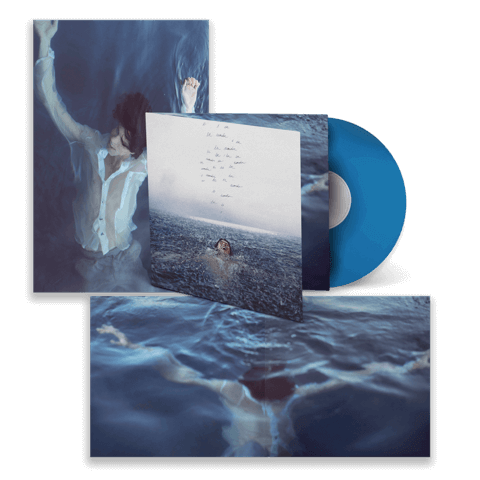 WONDER LIMITED BLUE VINYL w/ Foldout Poster by Shawn Mendes - LP - shop now at Shawn Mendes store