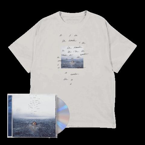 WONDER (STANDARD CD + WONDER T-SHIRT) by Shawn Mendes - CD-Bundlle - shop now at Shawn Mendes store