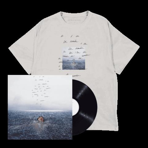 WONDER (STANDARD LP + WONDER T-SHIRT) by Shawn Mendes - LP-Bundle - shop now at Shawn Mendes store