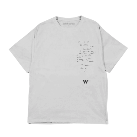 W by Shawn Mendes - T-Shirt - shop now at Shawn Mendes store