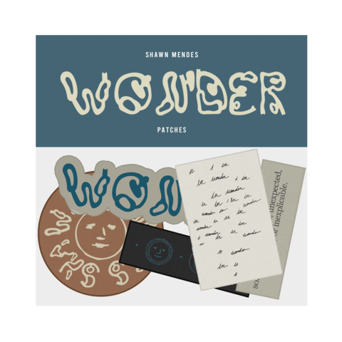 WONDER by Shawn Mendes - Patch - Set - shop now at Shawn Mendes store