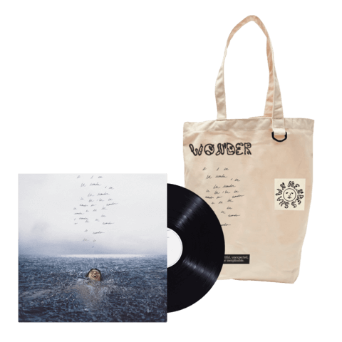 WONDER (STANDARD LP + TOTE) by Shawn Mendes - LP Bundle - shop now at Shawn Mendes store